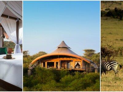 The ultimate safari experience! Choose Mahali Mzuri for your honeymoon in Kenya!