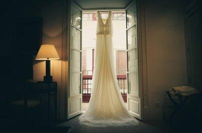 Éstas son las claves para resplandecer con tu vestido de novia