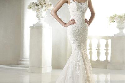 Elegante Brautkleider mit quadratischem Ausschnitt aus den Kollektionen 2015