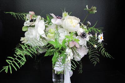 White on white: conheça 3 bouquets que se ajustam à tendência.