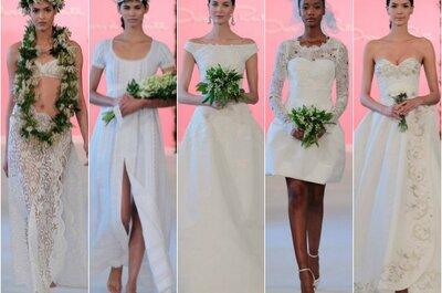 Die angesagtesten Brautkleider der New York Bridal Week 2015!