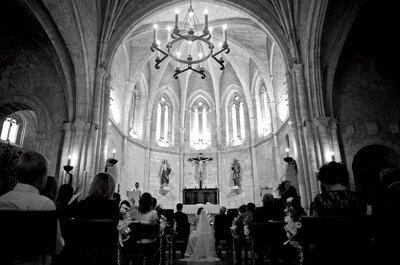 ¿Cómo hacer la entrada y la salida en la iglesia?