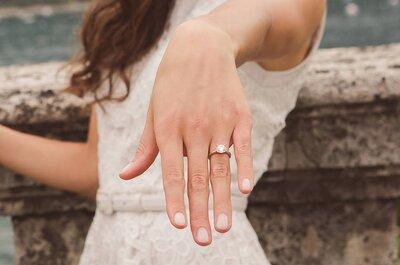 La foto perfetta con l'anello di fidanzamento: 10 idee secondo i migliori fotografi