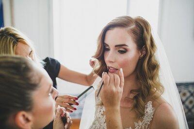 Noivas 'branca de neve': a makeup artist Jordana Carraça explica qual a melhor maquilhagem