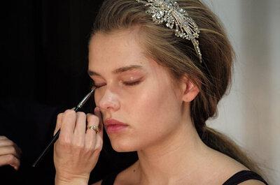 Letni makijaż ślubny
