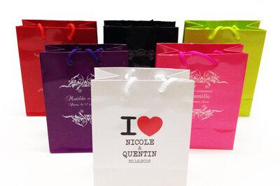Wedding bag, sac personnalisable : un cadeau d'invité tendance à adopter à votre mariage