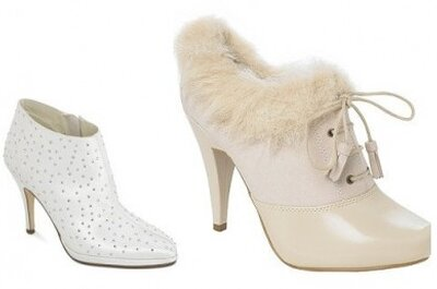 Eight great bridal shoes for a winter wedding