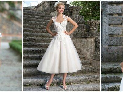 Suknie ślubne Sincerity 2016: subtelne wzory wychwalając swoja delikatnosc!