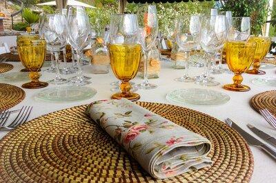 Creativo, original y detallista... Elige el catering que mejor se adapte a tu boda
