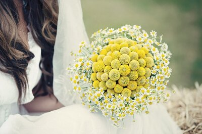 Decor Highlight: Yellow and White Styled Wedding Shoot