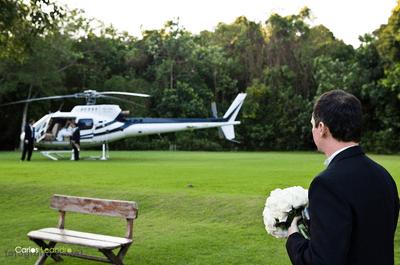 Sonho dos noivos ou exagero?