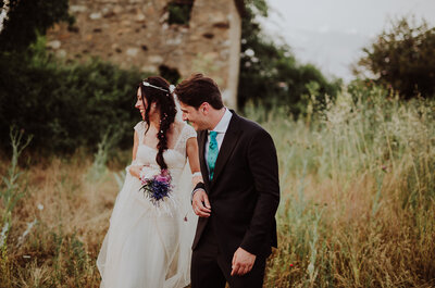 Un amor Madrid-Barcelona: la boda de Iris y Jorge
