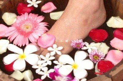 Consiente tus pies: Tratamientos caseros que mejoraran su estética para la boda
