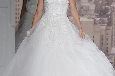 Vestidos de novia primavera 2015 de Rosa Clará, una colección envuelta de magia ¡de principio a fin!