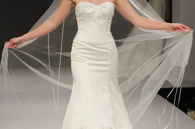 Anne Barge Fall 2012 Bridal Collection of Striking & Sophisticated Wedding Dresses