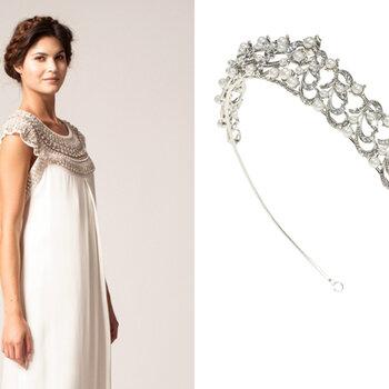 Hermosos vestidos de novia y accesorios inspirados en los años 20: Lujo vintage en todo su esplendor
