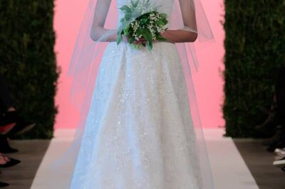 Oscar de la Renta at New York Bridal Week - Spring Collection 2015
