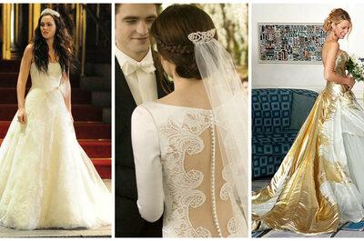 8 vestidos de novia que causaron sensación en películas y series de televisión: ¡Wow!