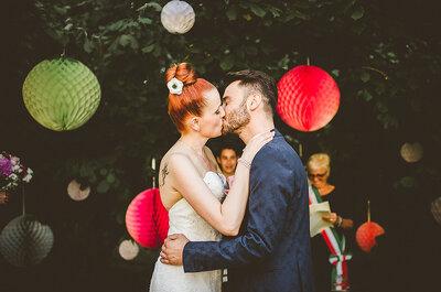 Tra libri e musica: il matrimonio non convenzionale di Rachela e Luca