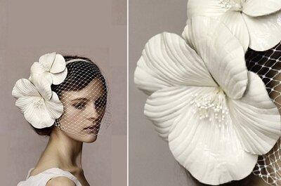 Haar-accessoires voor de romantische bruid