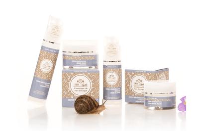 On a testé pour vous les cosmétiques bio à la bave d'escargot !