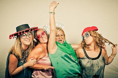 Fotografia de casamento: divirta-se com um photobooth!