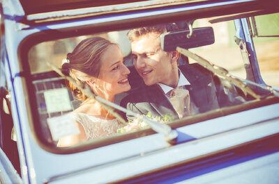 Le mariage organisé à 100 à l'heure d'Anne et Pierre !