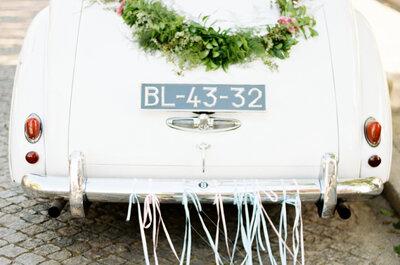 Auto clásico vs. auto moderno, ¿cuál elegir para tu boda?