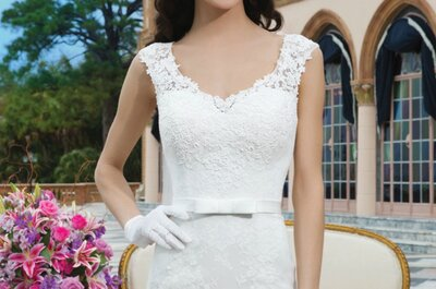 2015 Bridal gowns by Sincerity Bridal: Intricate beading and sensual styles