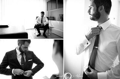 Estilos e modelos de gravatas para eles: noivos e padrinhos