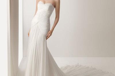 ¿Por qué es importante conocer cómo sujetar la cauda de mi vestido de novia?