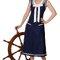 Vestido estilo Fedora navy. ©Collectif