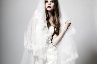 Kollektion kisui 2012: moderne und elegante Brautkleider für einen natürlichen Look