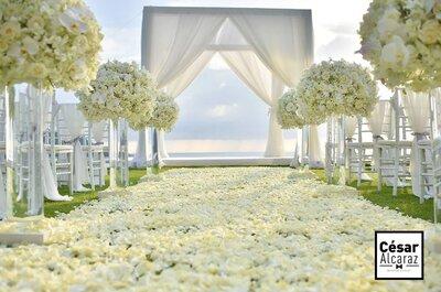 10 cosas que debes hacer primero que nada al momento de organizar tu boda
