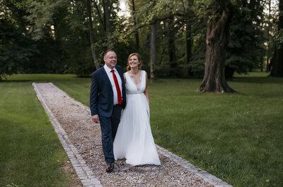 Zjawiskowy reportaż ślubny Gosi i Seweryna w Pałacu. Zapraszamy!