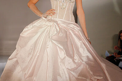 Ines Di Santo Fall 2012 Bridal Collection of Sparkling & Sophisticated Wedding Dresses