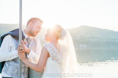In 3 einfachen Schritten zu einem bezaubernden Hochzeitsalbum: einmal lächeln, bitte!