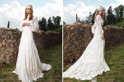 Свадебное платье в стиле винтаж 2015