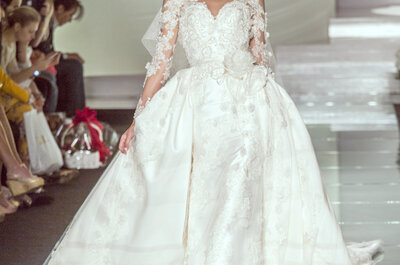 Amelia Casablanca 2015: sfila la sposa più glamour
