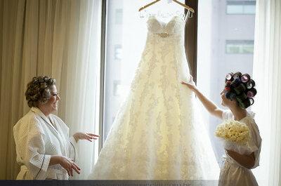 Wat doet de moeder van de bruid?