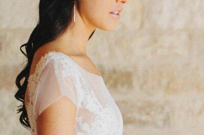 Peinados informales para novias modernas