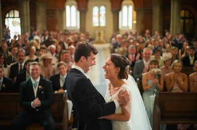 Casamento Danii & Olly: mini wedding super charmoso na Inglaterra!