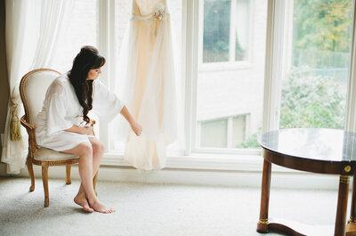 ¿Qué vestidos de novia le favorecen a las tallas reales? Sigue estos consejos
