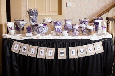 40 mesas de postres increíbles para darle un delicioso sabor a tu boda