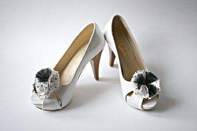 8 applicazioni di Etsy per impreziosire le tue scarpe da sposa