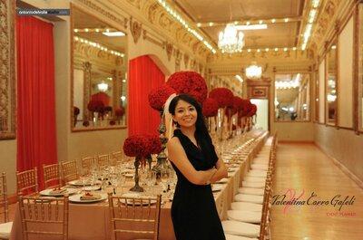 ¿Cómo organizar tu boda? Valentina Corro te guía en el proceso