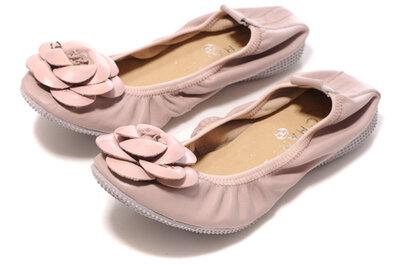 Chaussures roses pour mariées et invités