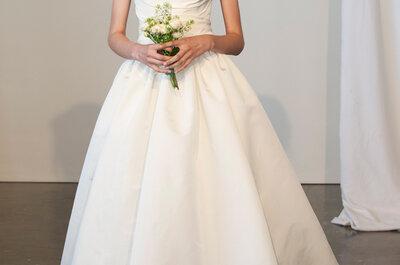 Os incríveis vestidos de noiva Marchesa 2015 na New York Bridal Week