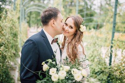 Poznali się w Walantyki i...do tej pory to robią. Piękne zdjęcia z ich ślubu!