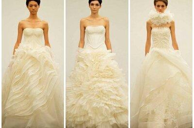Colección Vera Wang Otoño 2013 : faldas esponjadas y diseños románticos